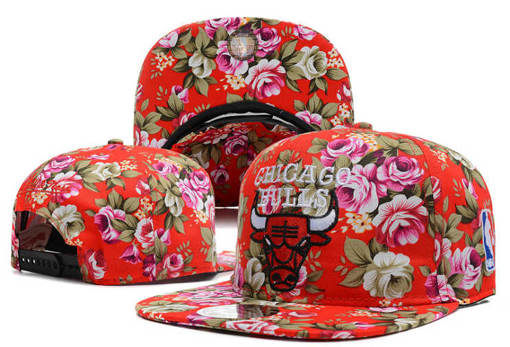 Chicago Bulls Snapback Hat DF 4 0613